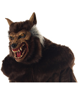 ULTRA DELUXE WEREWOLF Adult Wolfman Scary Halloween Mask - $39.95