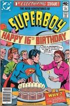 The New Adventures of Superboy Comic Book #1 DC Comics 1980 FINE+ - $4.75
