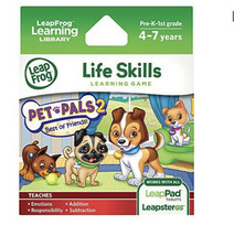 Leapfrog Explorer - LeapPad Learning Game - Pet Pals 2 - New - Sealed - $24.74