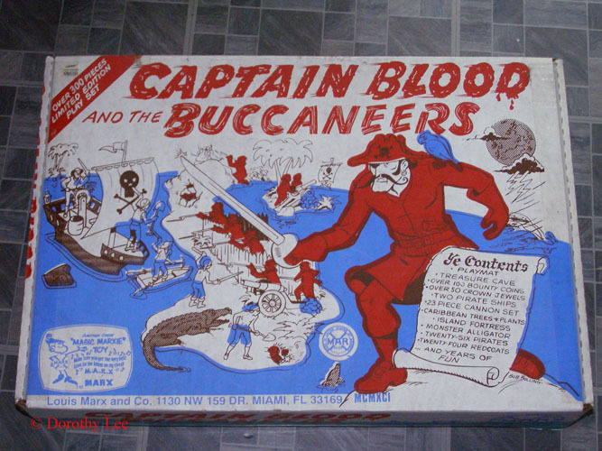 Marx Captain Blood & The Buccaneers Playset