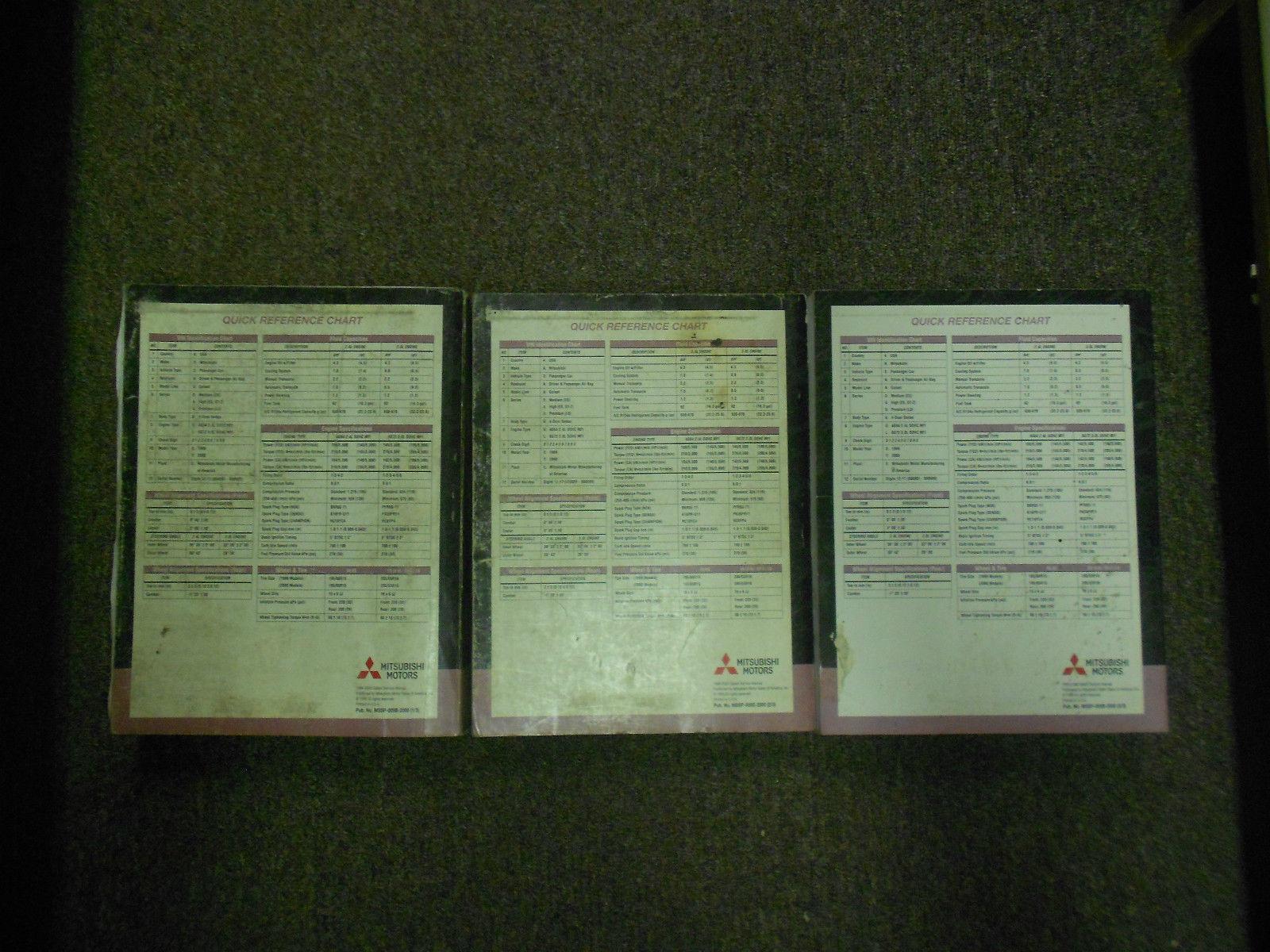 1999 2000 MITSUBISHI GALANT Service Shop Manual SET OEM DEALERSHIP BOOKS 1st EDI image 12