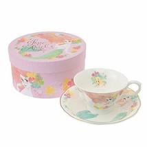 Disney Store Japan Limited Little Mermaid Ariel Tea Cup & Saucer Set Coffee mug - $78.21