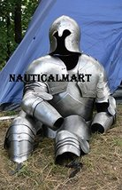 Medieval Barbuta Half Suit Of Armor Wearable Suit Of Armour - $699.00