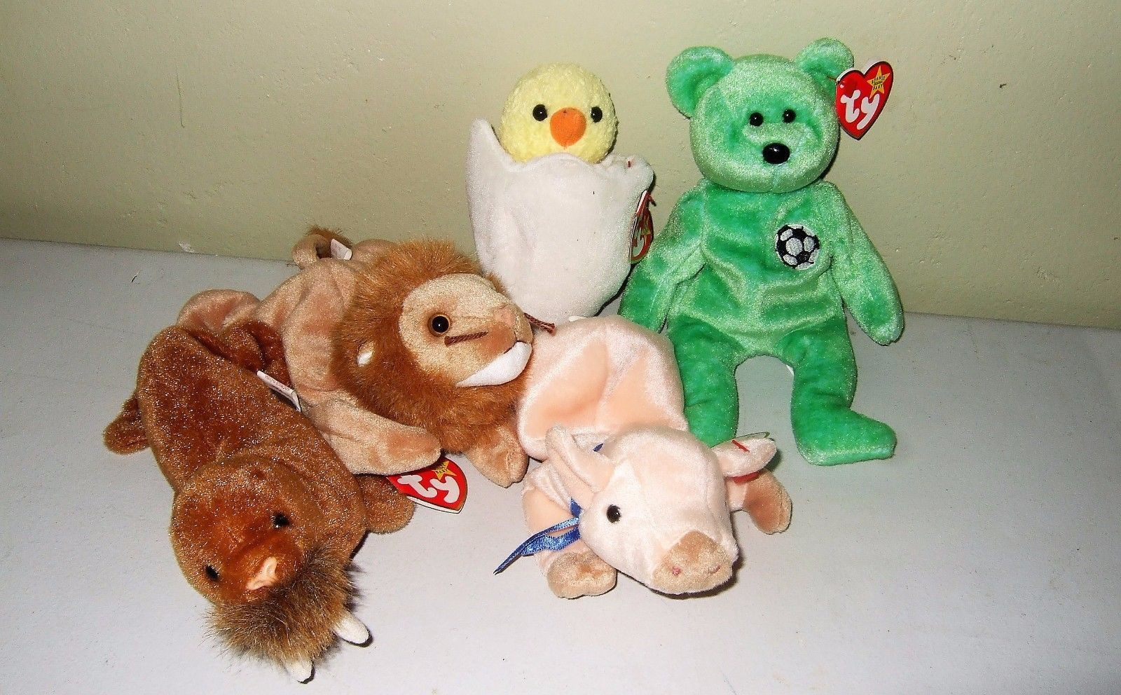 c3851411282 Ty Beanie Babies Eggbert Chick Errors Kicks and 50 similar items. S l1600