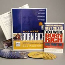 NEW Bob Proctor You Were Born Rich 6 DVD+15 CD (MSRP $595) SAVE $200 SEA... - $397.88