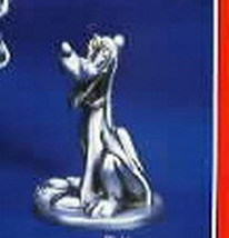 Disney Pluto with his dog bowl Pewter Make Offer - $62.50