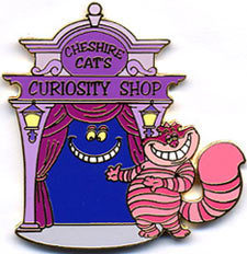 Disney Cheshire Cat Villain Alice LE Auction Pin/Pins