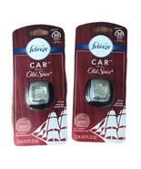 2 Febreze Car with OLD SPICE Man Scent Vent Clip Air Freshener Last Up T... - $18.80