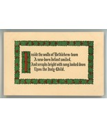 Wood's Boston Coffee advertising trade card Christmas greeting card Leba... - $9.00