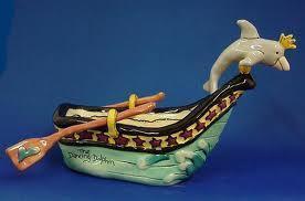Dolphin rowboat