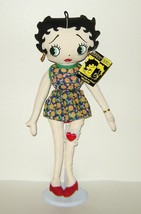 1/2 Price! Peace Lovin Betty Boop Soft Stuffed Doll New w Tag - $9.00