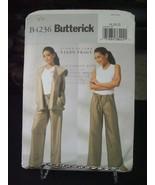 Butterick B4236 Misses Jacket & Pants Pattern - Size 18/20/22 Bust 40-44 - $9.89