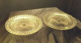 Waterford large etched glass Serving Platters USA Pair AA19-LD11930 Vintage image 5