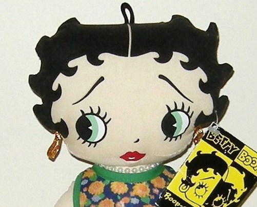 1/2 Price! Peace Lovin Betty Boop Soft Stuffed Doll New w Tag