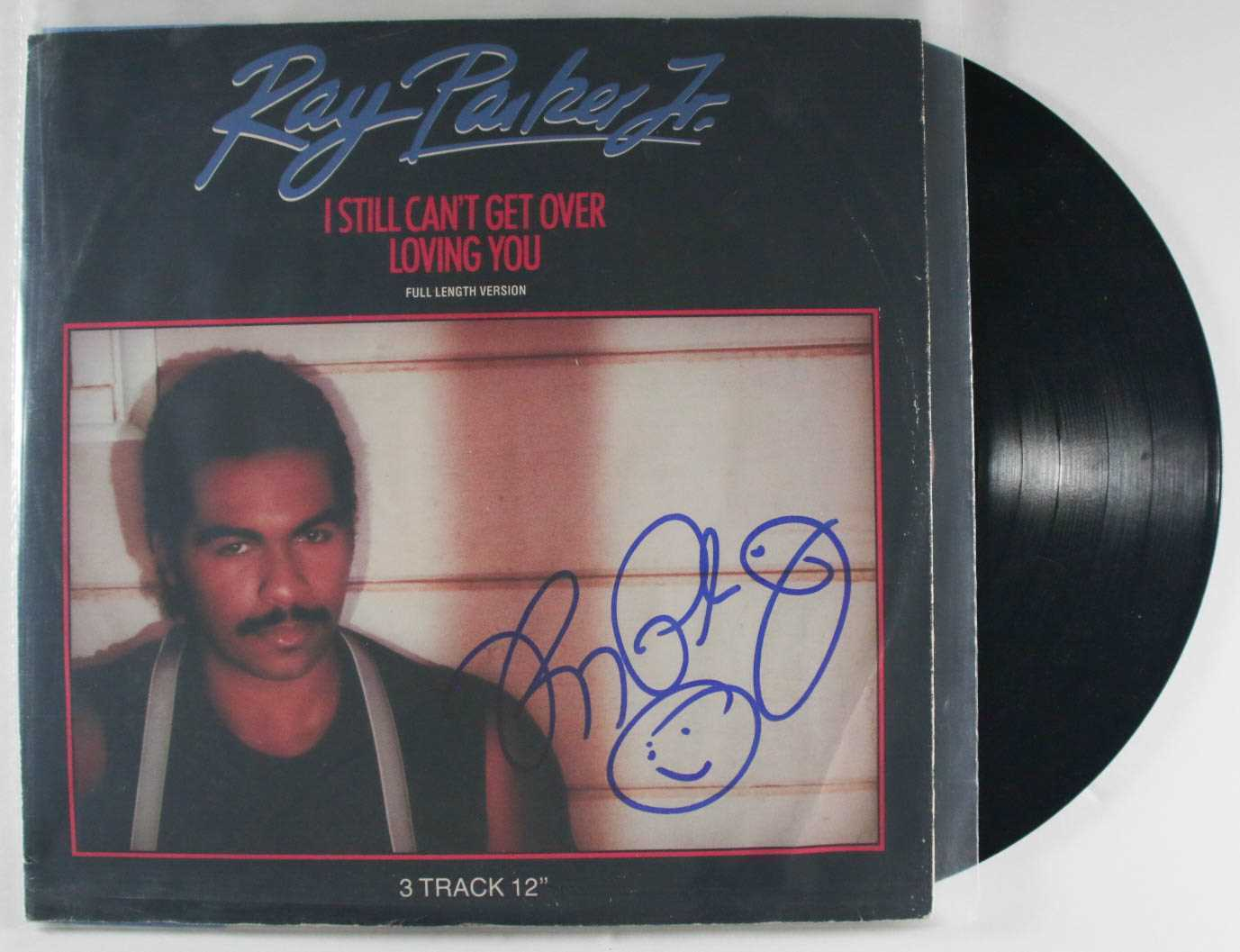 Primary image for Ray Parker, Jr. Signed Autographed ''I Still Can't Get Over Loving You'' Record
