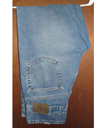 Men's Calvin Klein Blue Jeans Straight Leg 36 x 33.5  - $14.99