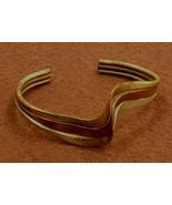 Mixed Metals Bracelet Unsigned Needs Repair Brass Copper Silver - $8.50