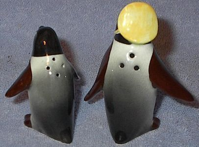 Japan Figural Penguin Salt and Pepper Shaker Set