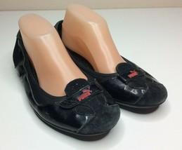 PUMA Zandy women's Black Ballet Flat Shoes Size US 9.5 UK 7 EUR 40.5 - $24.06