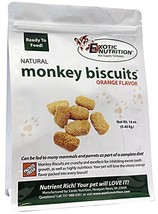 Exotic Nutrition Monkey Biscuits - Healthy Crunchy Biscuit Treat for Pra... - $44.93
