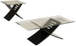 ACME Elhan Black Coffee End Table Set 3 Piece - €308,02 EUR