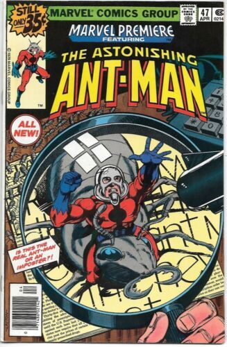 Primary image for Marvel Premiere Comic Book #47 NEW Ant-Man 1979 VERY FINE+