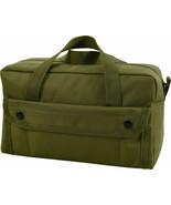 Olive Drab Mechanics Heavy Duty Poly Standard Tool Bag with Brass Zipper - $19.99