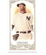 2012 Allen and Ginter Mini A and G No Number #223 CC Sabathia Yankees NM... - $10.00