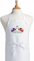 Feliz Navidad Spanish Cooking Aprons For Christmas - $9.85