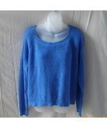 Old Navy large long-sleeved blue cotton blend s... - $15.00