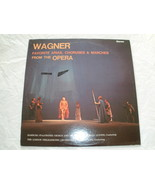 Wagner - Opera Favorites - Overtures, Choruses, Arias & Marches - LP - $8.50