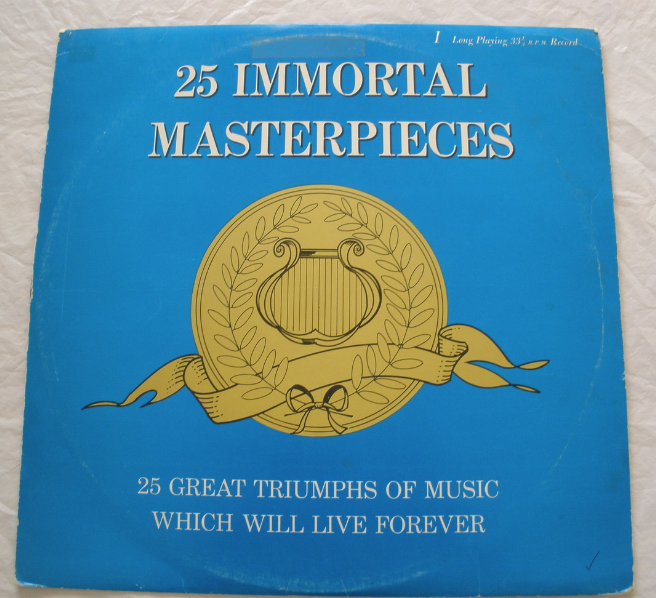 25 Immortal Masterpieces - LP