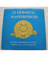 25 Immortal Masterpieces - LP - $8.50