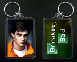 BREAKING BAD keychain / keyring RJ Mitte WALT JR - $7.84