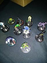 Heroclix 10 piece lot DC Comics Heroclix Figures - $24.74