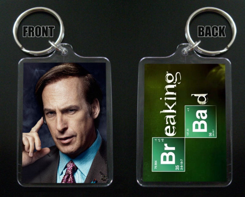Primary image for BREAKING BAD keychain / keyring SAUL GOODMAN Bob Odenkirk