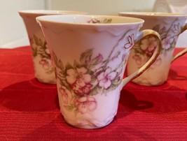 Haviland Limoges France Set of 5 Chocolate Cups or Tea Cup Schleiger 241 - $42.57