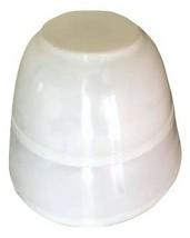 2  OPAL WHITE PYREX NESTING MIXING BOWLS 402 & 403 - $59.39