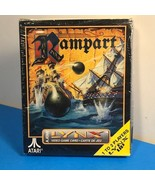 ATARI VINTAGE VIDEO GAME CARD CASE ONLY 1991 RAMPART LYNX CASTLE SIEGE C... - $12.82