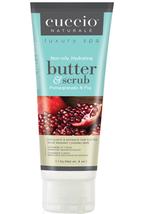 Cuccio Naturale Butter & Scrub, Pomegranate & Fig   4 oz