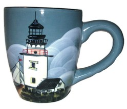 "David Carter Brown ""By the Sea"" Lighthouse Marine Boat Coffee Mug Cup - $36.99"