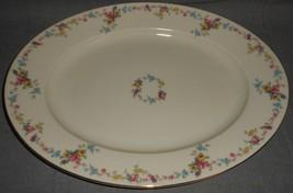 Baronet VERNONA PATTERN Oval Serving Platter MADE IN BOHEMIA - CZECHOSLO... - $39.59