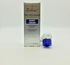 TEATRICAL SKIN LIGHTENING Cream 1.7 oz / TEATRICAL PRO-ACLARANT NIGHT CREAM - $14.99