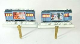 Pair of Hallmark Polar Express Stocking Hanger w/ built in picture frame... - $49.99