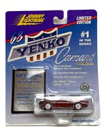 Johnny Lightning 1/64 Yenko Camaro 1968 red Limited Edition MTR - $8.50
