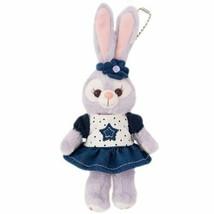 Stella ? Ruu denim plush rabbit Duffy Sherry May Gellatoni Tokyo Disney ... - $43.63