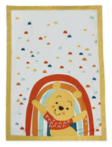 """Disney Store Winnie The Pooh Blanket for Baby Unisex Soft Woven 40x30"""" NWT - $33.99"""
