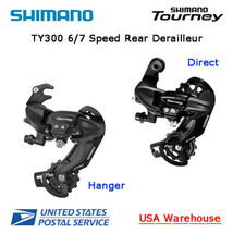 Shimano Tourney RD-TY300 6 / 7 Speed Hanger / Direct Rear Derailleur MTB - $22.99