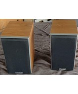 Set of Two Gently Used Mission Bookshelf Speakers - VGC - SMALLER SIZE -... - $148.49