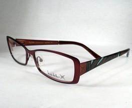 Nicole Miller New Wave Brown Eyeglasses Eyewear  Women new Frames Designer - $39.58